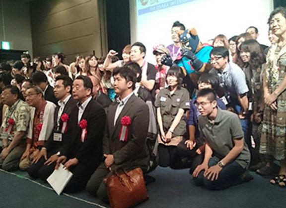【大阪校】大阪国際マンガグランプリ表彰式