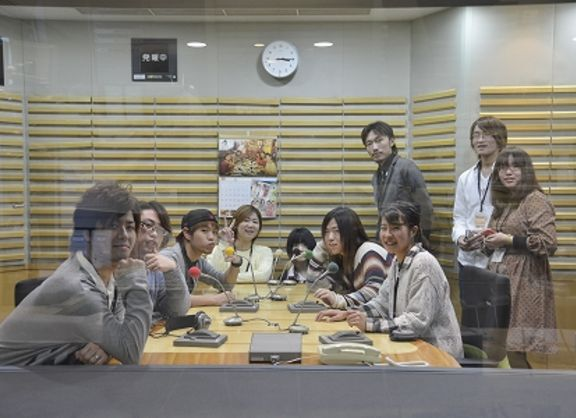【東京校】ラジオ局ニッポン放送で朗読CDを収録&スタジオ見学!