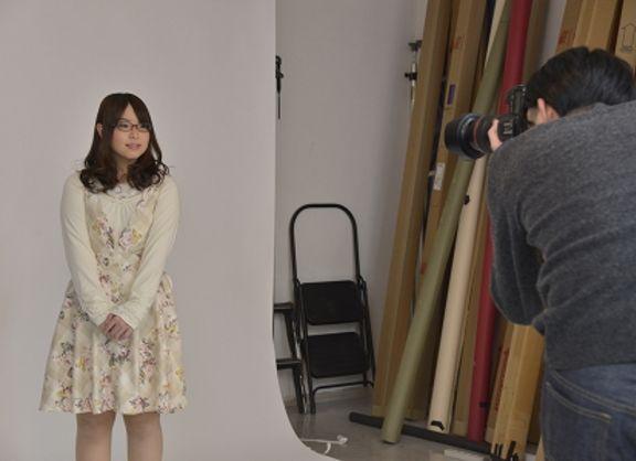【東京校】アニメ&ゲーム声優専攻・デビューに向けて、宣材写真撮影!