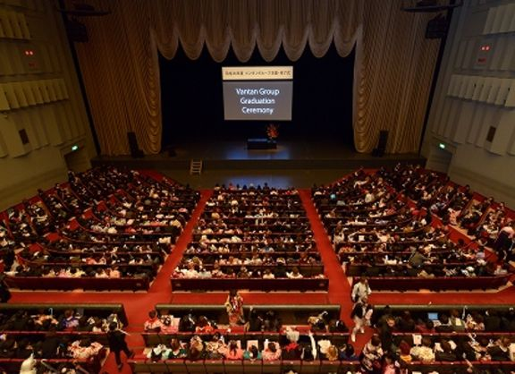 【東京校】新しい旅立ち!平成26年度 バンタングループ卒業・修了式