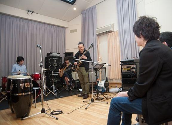 【東京校】リアルな楽曲制作に生かせ!プロの演奏で「いい音」を体感@スタジオノード 新宿