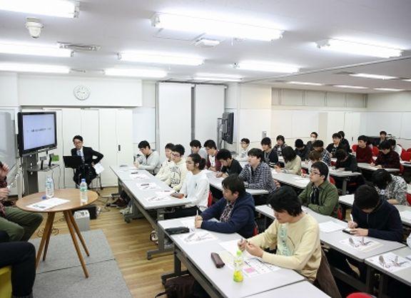 【東京校】コンテンツデザインプログラム★杉山イチロウ様が「恋愛シミュレーションゲームの作り方」についてプレミアム講演