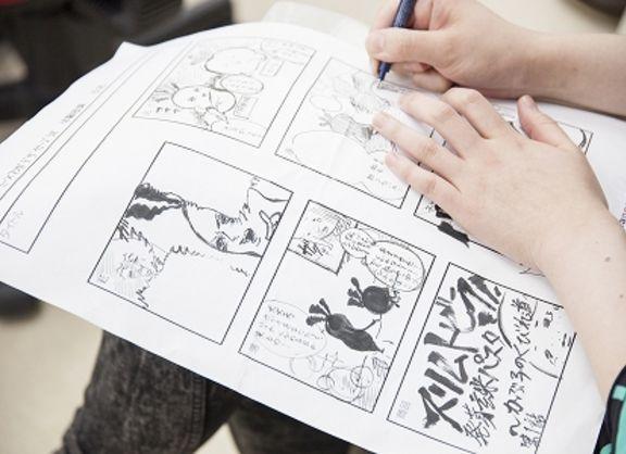 【東京校】発芽玄米パスタを試食しながら!?マンガ「デザイン」ワークショップ! Produced byマンガデザイナーズラボ