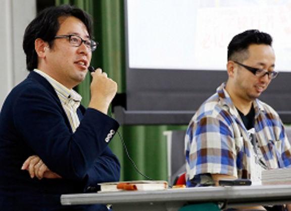 【東京校】マンガ家の深谷先生×花田編集長が教える、マンガ制作の現場--マンガ編集部連携授業