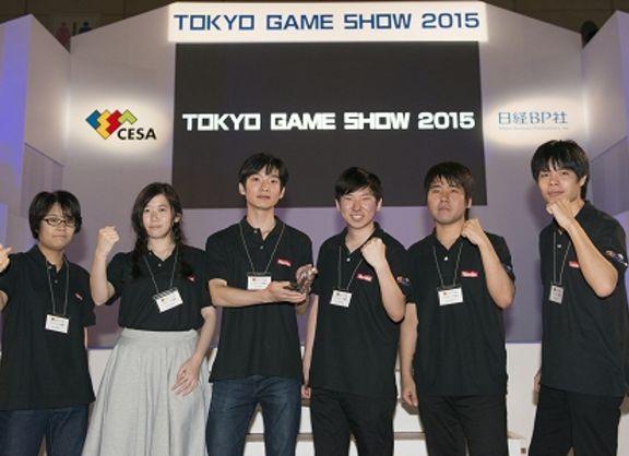 【東京校】「日本ゲーム大賞2015アマチュア部門 発表授賞式」!@東京ゲームショウ