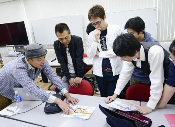 【東京校】チーム制作プロジェクト始動!ゼニマックス・アジア株式会社様が、ゲーム作りの極意をアドバイス!