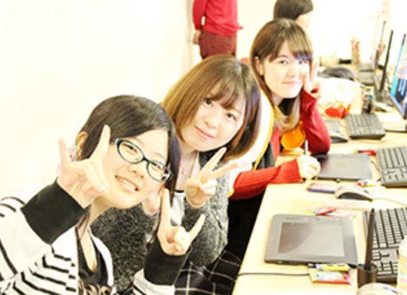 【大阪校】キャラクターデザインクラスの授業を大阪校の新キャラがレポート!!!