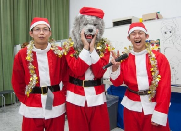 【東京校】バンタンゲームアカデミー★Christmas Event 2015★開催!