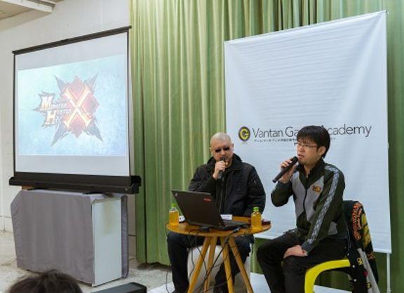【東京校】『モンスターハンタークロス』のプロデューサー小嶋氏がゲーム制作講義を開催!