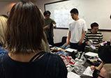 [大阪校 授業レポート]スピンズの商品を学生達が企画!(プレゼンテーション編)【バンタンデザイン研究所 高校ブログ】