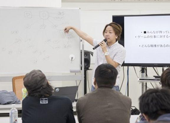 【東京校】ゲームデザイナー上原講師のゲーム概要授業!