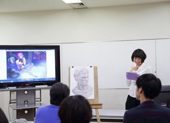 【東京校】キャラクターデザイナー専攻1年生・初めての合同審査会!