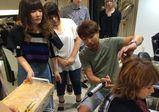 【大阪校】実際のサロンでトップスタイリストから学ぶ、サロン実習実施★【バンタンデザイン研究所 高校 blog(ブログ)】