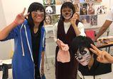 【大阪校】入学前授業でアニマルメイクにチャレンジ!【バンタンデザイン研究所 高校 blog(ブログ)】