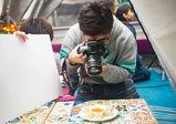 [全日制]Advertising授業レポート!フォトグラフィ学科が、恵比寿の老舗ネパール料理店で料理撮影!【 バンタンデザイン研究所 】