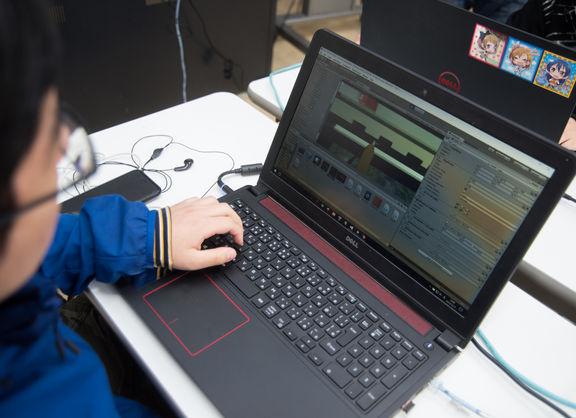 【東京校】開発日記第4弾☆ゲームプログラマーに密着(๑•̀ㅂ•́)و✧