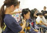 【大阪校】浴衣着付けとヘアメイクを行なうヘアサロンをオープン!【バンタンデザイン研究所 高校 blog(ブログ)】