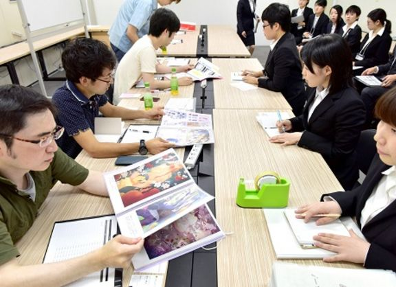 【東京校】憧れの企業に、直接アピール!ゲームアカデミーの就活マッチングイベント「スカウト展」に密着!
