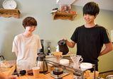 4つのコーヒーを飲み比べ! カフェプロフェッショナル本科の学生によるカフェスタンドがオープン!