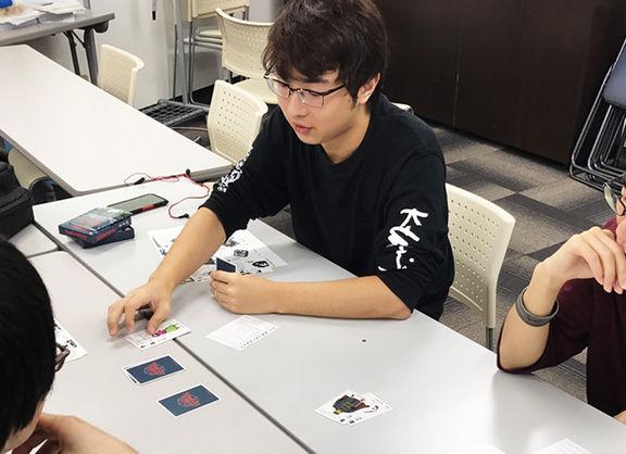 【東京校】ロストレガシーライセンスを使用したオリジナルカードゲーム制作「アナログゲーム制作授業」がスタート!