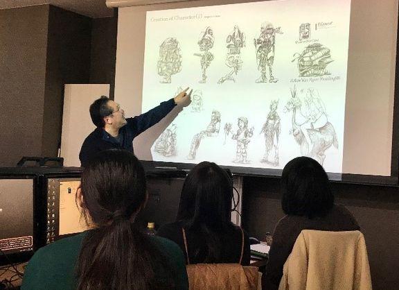 【東京校】株式会社サンバード様による、キャラクターイラスト制作の極意!