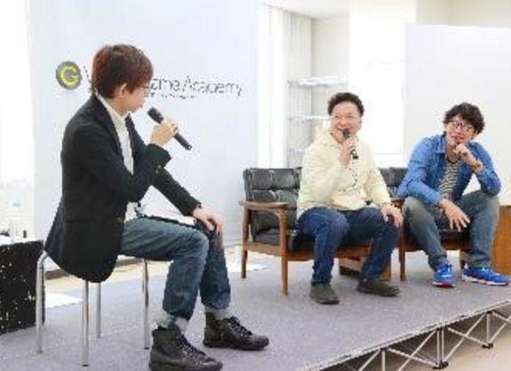 【東京校】日本を代表する人気声優が来校!山口勝平様&中谷一博様講演会をレポート!