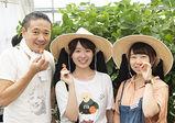 グラン パティシエコースがファーム実習へ!小田原市・中嶋農園で、イチゴの栽培について学びます♪