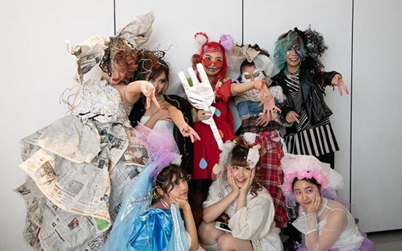 4クラスの創造性が爆発!廃材を使ったヘアメイクショーをレポート!【 バンタンデザイン研究所 】