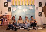 注目のガールズポップトリオLucie,Tooライブ「放課後の学園祭」へ。Tシャツ&フライヤー&空間デザインを学生が担当!【バンタンデザイン研究所】
