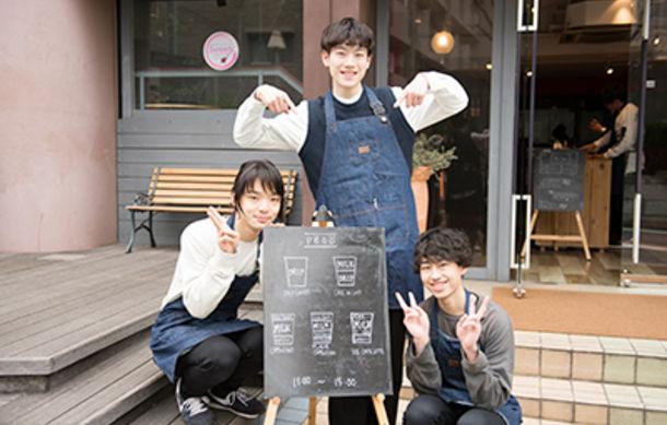人と人をコーヒーがつなぐ★1日限定のコーヒースタンド『peco』をオープン!