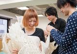 [全日制] ファッションデザイン基礎科、シーチングで「新しいスカート」制作授業に潜入☆