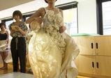 ファッションデザイン学科☆基礎科生が新しいスカートの形をプレゼン!