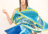 ファッションデザイン系学科の「MyDressプロジェクト」プレゼン