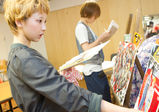ファッションプロデュース学科、新入生初の審査会★「TOKYO REAL SEARCH」フリーペーパーのプレゼン授業!