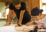 プロダクトデザイン学科:木工工房で椅子製作実習☆