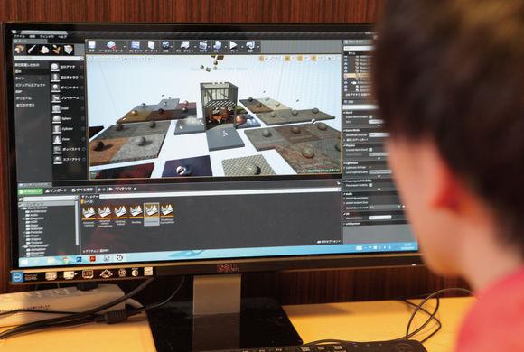 プロが使ってる開発エンジンを触ろう!『3Dゲーム制作体験』