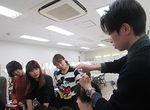 【授業レポート!】高木政美講師 監修のヘアテクニック授業に密着!