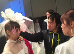 【修了展レポート】ヘアメイク学部 基礎科(1年生)による修了制作展に密着!