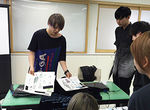 """【授業レポート】特別進級クラス""""X-SEED""""生による作品プレゼンテーション"""