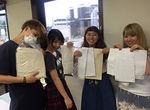 【授業レポート!】ミシン縫製授業~トートバッグを制作! ~