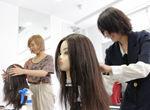 授業レポート★ヘアテクニック授業【バンタンデザイン研究所 高校 blog(ブログ)】