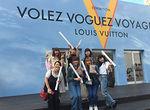 """【授業レポート!】""""「Volez,Voguez,Voyagez - Louis Vuitton(空へ、海へ、彼方へー旅するルイ・ヴィトン)」展""""を見学!"""