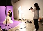 【授業レポート!】ブライダルフォト授業、スタジオでの撮影実習に密着!