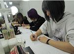 【授業レポート!】メイク画デッサンの授業に密着!