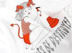 【卒業生情報!】水沢そらさんが、レコードSHOPディスクユニオンの『今をときめくイラストレーターやアーティスト』が描きおろしたオリジナルブランドGirlsideの新デザインTシャツのデザインを手掛けました!