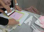 【授業レポート!】「シルクスクリーン」「ステンシル」2種類のプリント技法に挑戦