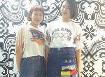 【授業レポート!】Tシャツとデニムに一工夫!リメイク加工で1960年代ファッションを表現!