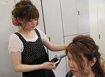 【授業レポート!】ブライダルヘアメイクの授業に密着!