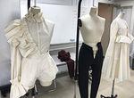 【授業レポート!】ファッションショーに向けた作品中間チェックを実施!